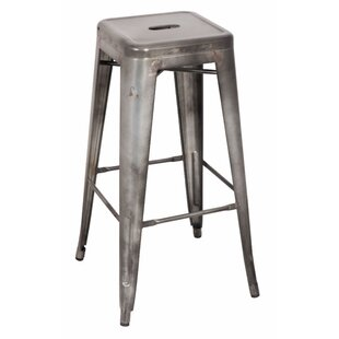 Mckim Metal 30 Bar Stool (Set of 2)