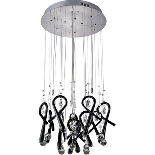 Class 10-Light Mini Chandelier by Diyas