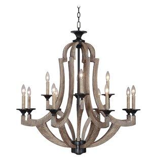 Laurel foundry modern farmhouse marcoux 8 light empire chandelier marcoux 12 light empire chandelier aloadofball Images