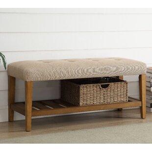 Indoor Wood Bench Seat | Wayfair