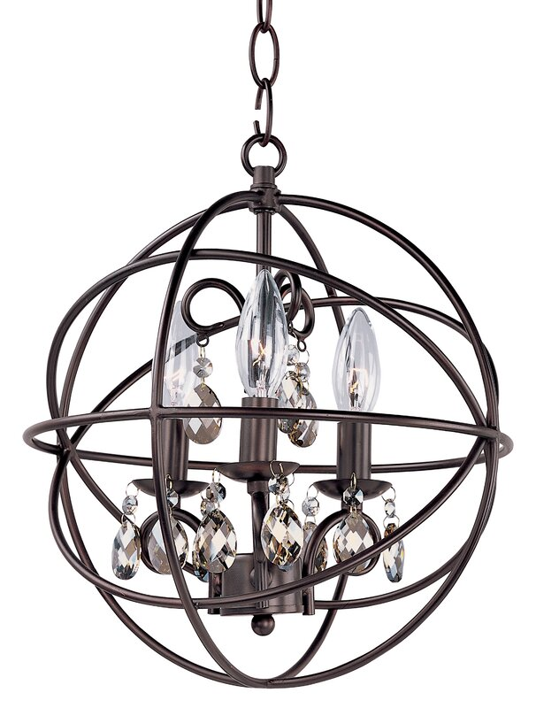 Alden 3 light candle style chandelier reviews birch lane alden 3 light candle style chandelier aloadofball Image collections