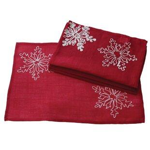 Christmas Embroidered with Snowflakes Placemat (Set of 4)  sc 1 st  Wayfair & Lenox Christmas China Sets | Wayfair