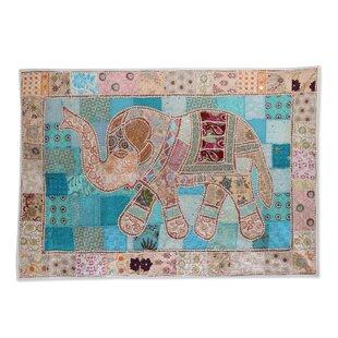 365a9ae5a0 Kaleidoscopic Elephant Tapestry