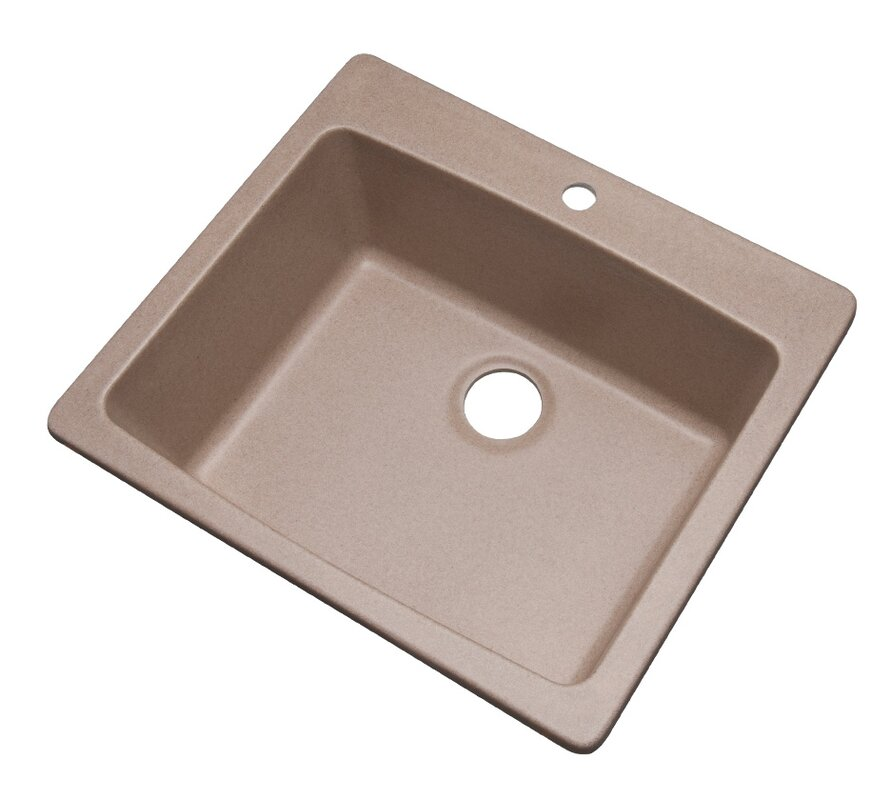 Solidcast northbrook 25 x 22 kitchen sink reviews wayfair northbrook 25 x 22 kitchen sink workwithnaturefo