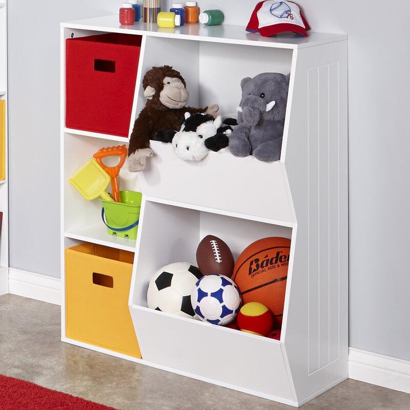Charmant RiverRidge 3 Cubby, 2 Veggie Bin Toy Organizer
