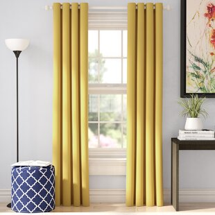 Light Yellow Blackout Curtains