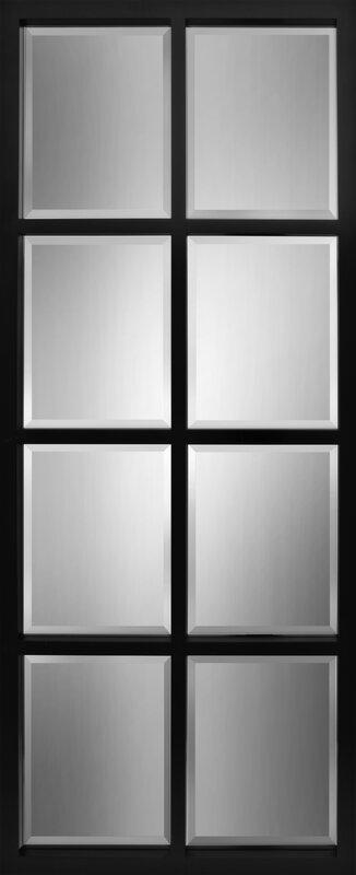 Stryker Windowpane Framed Wall Mirror & Stryker Windowpane Framed Wall Mirror \u0026 Reviews | Joss \u0026 Main