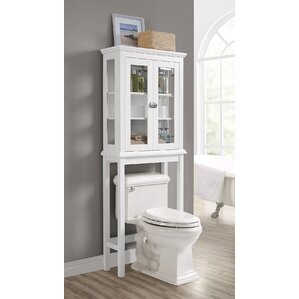 Over The Toilet Bathroom Organizers over the toilet storage cabinets | wayfair