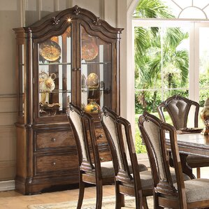 Crispin Lighted China Cabinet by Darby Ho..