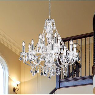Chandeliers youll love wayfair 308 classy candle style chandelier by endon lighting mozeypictures Choice Image