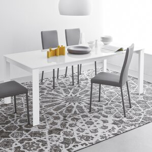 Eminence Wooden Legs Extendable Dining Table by Connubia