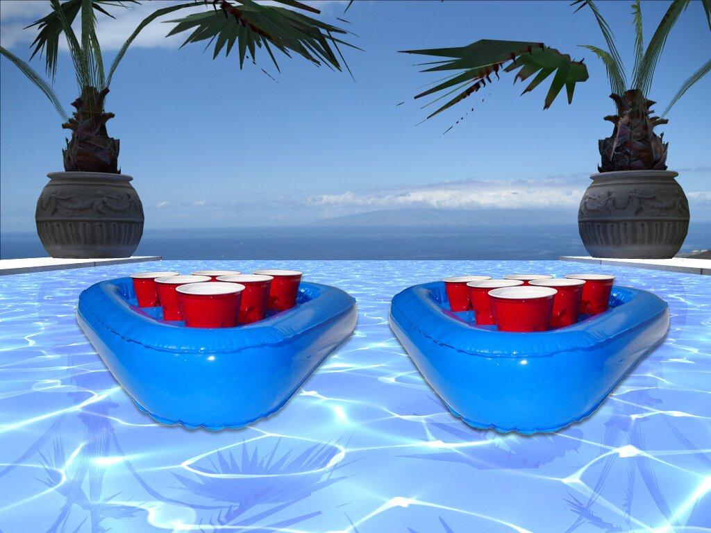 gopong floating beer pong raft set u0026 reviews wayfair