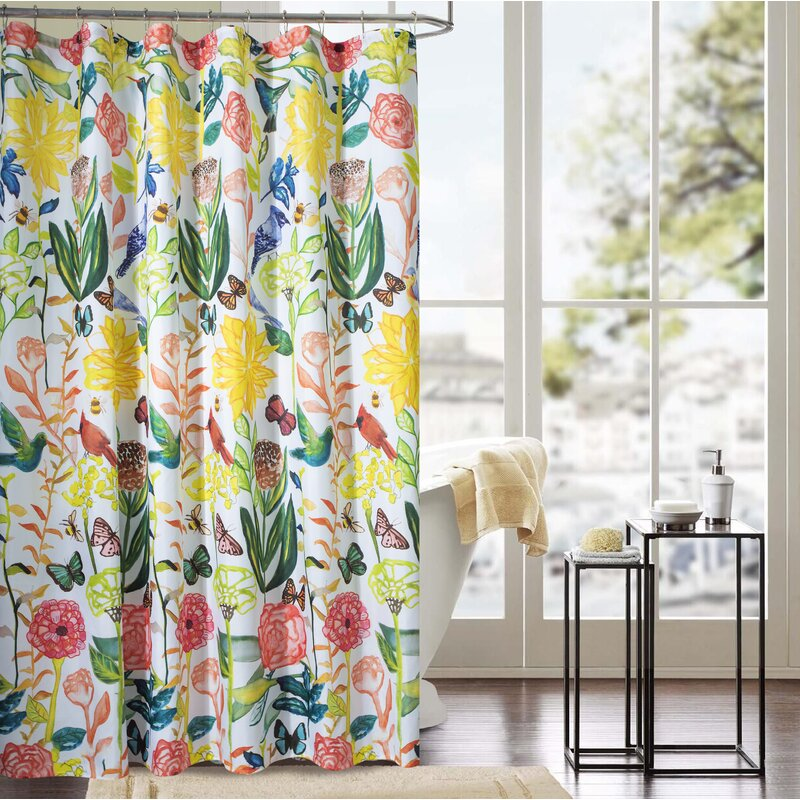 Sumter Classic Tropical Shower Curtain
