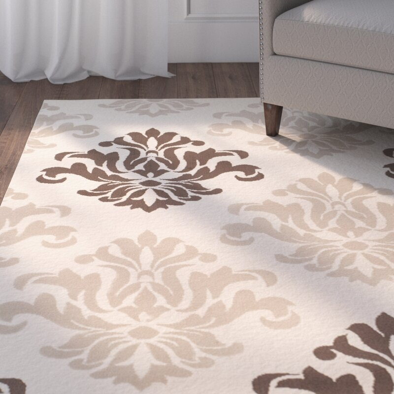Catalpa Cream Brown Area Rug