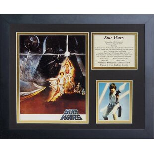 star wars framed art wayfair