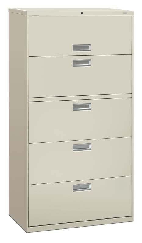 Brigade 600 Series 5-Drawer Lateral Filing Cabinet
