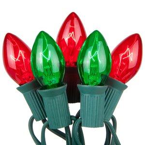 Commercial Christmas 50 Light String Light