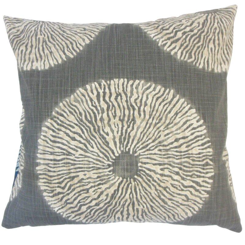 Latitude Run Hedgepeth Ikat Floor Pillow Wayfair.ca