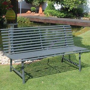 2-Sitzer Gartenbank aus Stahl von Leco