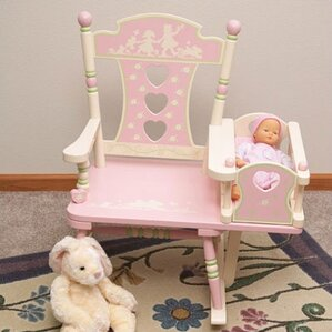 Rock A Buddies Royal Prince Kids Rocking Chair by Levels of Discovery