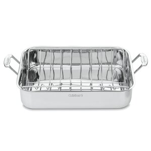 Cuisinart Stainless Steel Roasting Pan with Rack