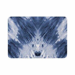Dye Pattern Memory Foam Bath Rug