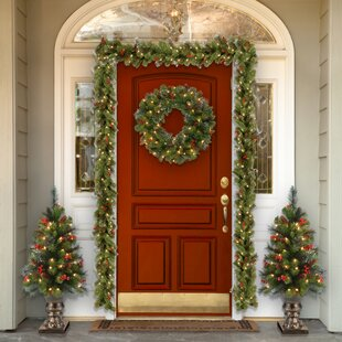 Christmas Wreaths Garlands You Ll Love Wayfair Ca