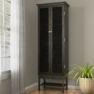 Ouellet Louvered Door 3 Drawer 2 Door Accent Cabinet : doors louvered - pezcame.com