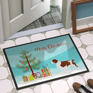 Welsh Springer Spaniel Door Mat