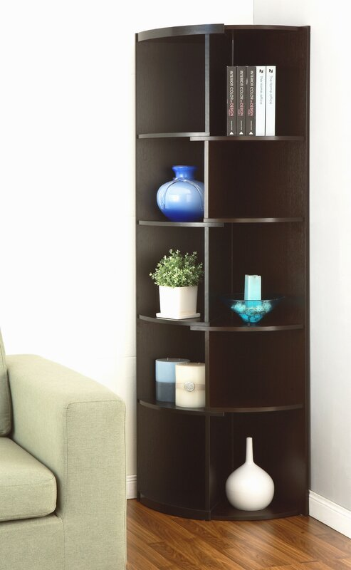 Ivy Bronx Bridges Corner Unit Bookcase Reviews Wayfair