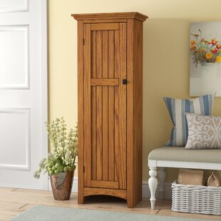 Nickolas 61  Kitchen Pantry & Tall Corner Pantry Cabinet | Wayfair