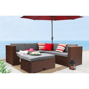 6 Piece Sectional Set with Cushions