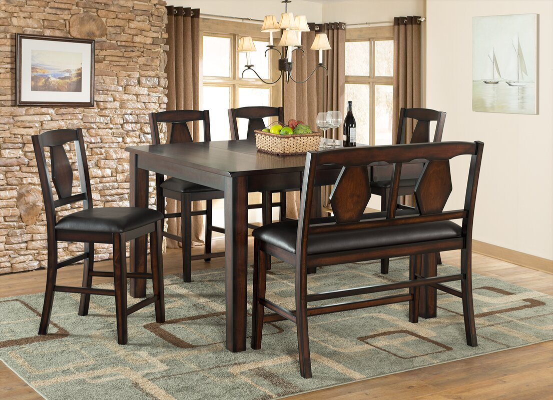 ViloHomeInc Tuscan Hills Extendable Dining Table & Reviews