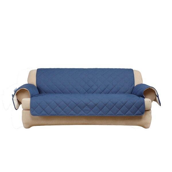 Sure Fit Denim Sherpa T Cushion Sofa Slipcover Wayfair
