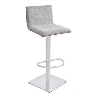 Bonetti Adjustable Height Swivel Bar Stool