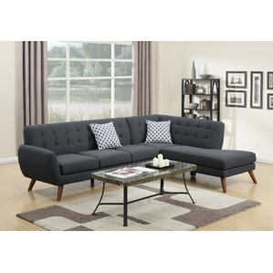 Bobkona Belinda Sectional by Poundex