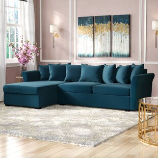 Small Apartment Size Sectional | Wayfair