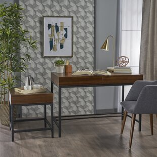 Bhatia 2 Piece Side Table And Writing Desk Set