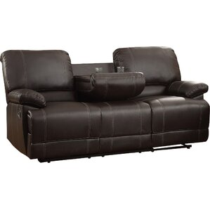 Edgar Double Reclining Sofa  sc 1 st  Wayfair & Reclining Loveseats u0026 Sofas Youu0027ll Love | Wayfair islam-shia.org