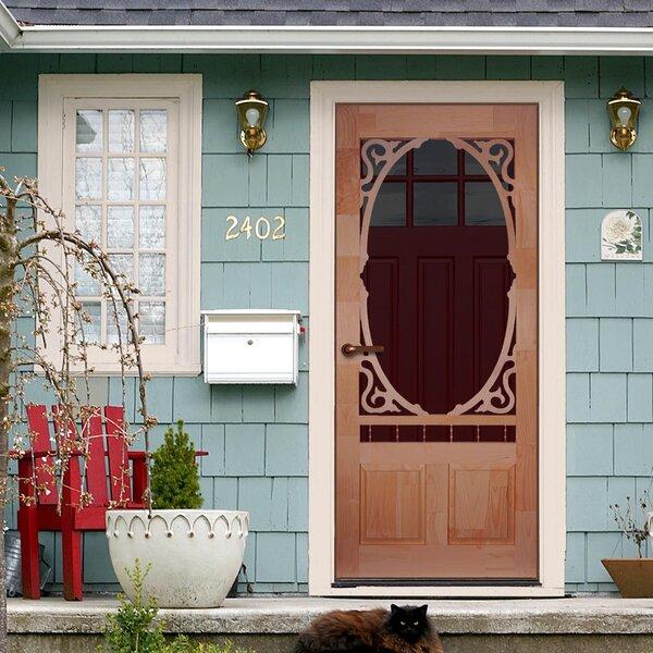 Kiby Clarington Unfinished Wood Slab Screen Door Amp Reviews