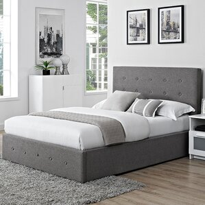 chanel upholstered ottoman bed