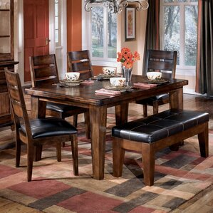 Spencerville Rectangular Dining Table by Three Posts