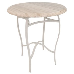 Goldston Travertine Pub Table top by Red ..