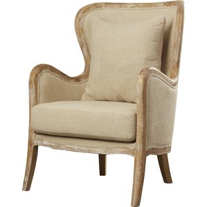Gazon Accent Wingback Chair by Lark Manor