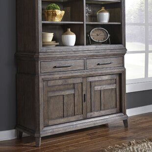 Vanwormer Sliding Door Buffet Table