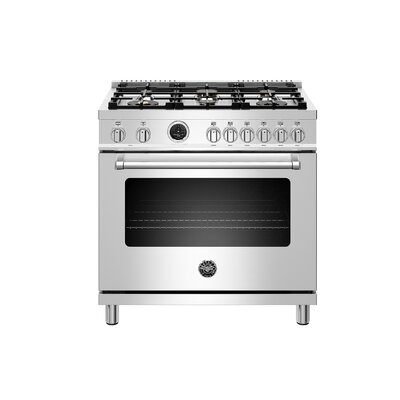 Master Series 36 Free-standing Dual Fuel Range with Griddle Bertazzoni