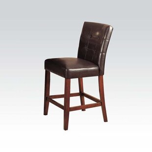 Elim Genuine Leather Upholstered Dining Chair (Set of 2)