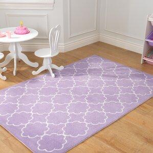 lavender poppy area rug
