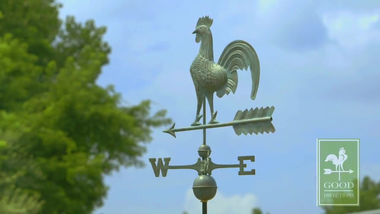 Good Directions Rooster Weathervane & Reviews | Wayfair