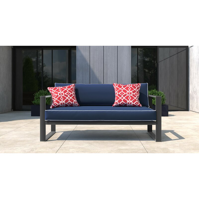 53ef23a46c Tommy Hilfiger Monterey Patio Sofa with Cushion & Reviews | Wayfair